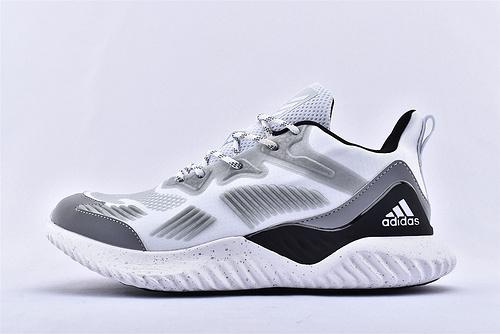 Adidas AlphaBounce Beyond M 阿尔法鲨鱼腮跑鞋/三配色  男鞋