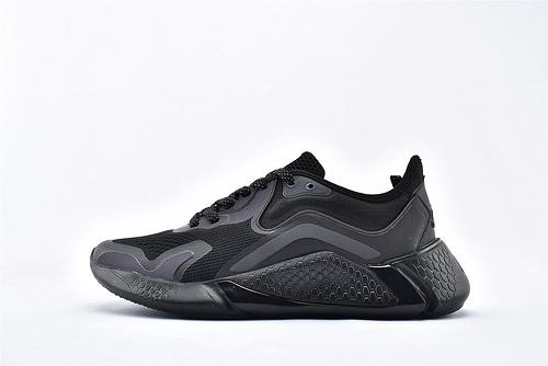 Adidas AlphaBounce 阿尔法跑鞋/黑武士 3M反光  货号:FW0674  男鞋
