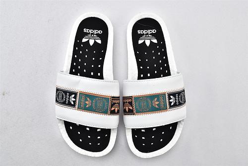 Adidas/阿迪达斯 ADILETTE boost 爆米花 夏季拖鞋 2020最新潮流夏季拖鞋  男女鞋  情侣款