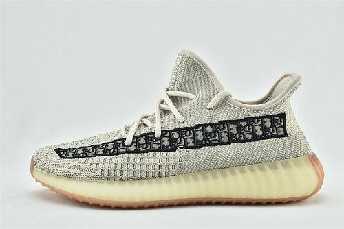 Adidas Yeezy Boost 350 V3 椰子3.0系列/ 迪奥 定制款  货号:FC6609  男鞋
