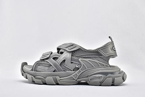 Balenciaga/巴黎世家 3.0 ins复古老爹凉鞋/高级灰 海外版  纯原版  男女鞋  情侣款