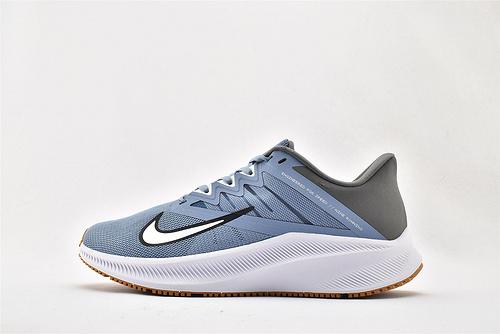 Nike QUEST 3 登月3代 运动跑鞋/灰蓝  货号:CD0230-100    男女鞋  情侣款