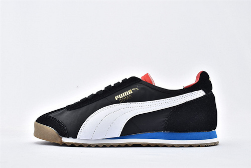 彪马/PUMA OG Nylon 复古板鞋/黑白蓝红 尼龙透气面 原标原盒  货号:362408-13  男鞋