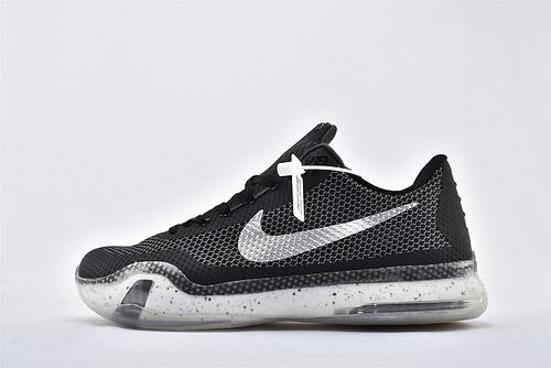 ZOOM KD 6 Gumbo League杜兰特6代篮球鞋/黑白 黑银 首发 【实战版】 纯原版  货号:705317-309  男鞋