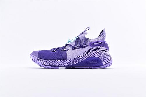 Under Armour Curry 6 安德玛库里6代篮球鞋/紫罗兰 随意实战  货号:3023315-999  男鞋