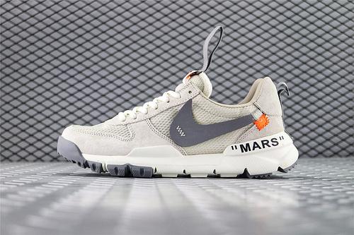 Nike Mars Yard x Off-White 联名款2.0宇航员/复古跑鞋 全灰 3M反光版  货号:AA2261 200 男女鞋 情侣款