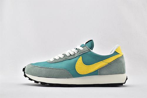Nike DBREAK SP 华夫款运动跑鞋/灰绿  货号:DA0824-300   男女鞋  情侣款