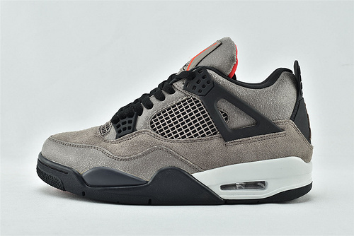 Air Jordan 4 AJ4 乔丹4代篮球鞋/摩卡黑棕 麂皮 小TS  纯原版  货号:DB0732-200   男女鞋  情侣款