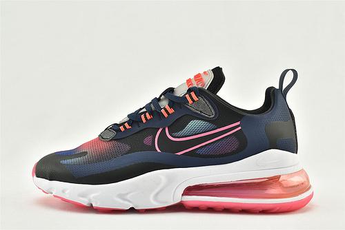 "Nike AirMax 270 React ""BAUHAUS"" 半小掌气垫气垫跑鞋/黑彩虹 渐变  货号:CK6929-400  男女鞋 情侣款"