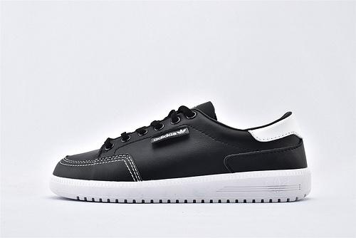 Adidas 三叶草 GARWEN DPZL 休闲板鞋/黑白 货号:B41837  男鞋