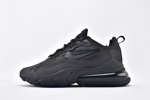 "Nike Air Max 270 React ""BAUHAUS"" 半小掌气垫气垫跑鞋/纯黑 黑武士 拼色 泡棉  芯片版  货号:AO4971-003  男鞋"