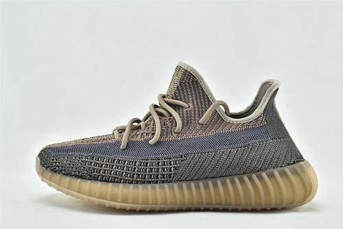 Adidas BOOST yeezy 350 V2 椰子系列/巧克力 粉蓝 2020秋冬最新配色  货号:HO2795   男女鞋  情侣款