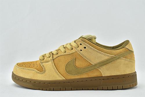 Nike SB Dunk Low Wheat 低帮滑板鞋/小麦 摩卡   货号:883232-700   男女鞋  情侣款