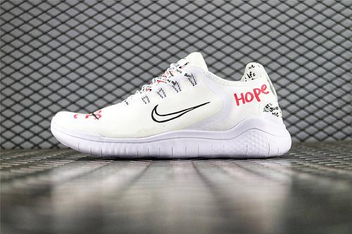 Nike x NOVO Free RN 2018城市限定涂鸦联名跑鞋 新宇航员 货号:AH3966 106 男女鞋 情侣款