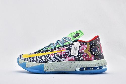 Nike ZOOM KD 6 杜兰特6代篮球鞋/鸳鸯  复活节 纯原版  货号:669809-500  男鞋