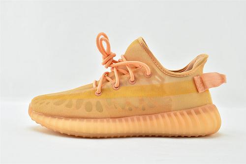 Adidas Yeezy Boost 350V2 椰子350系列/网纱 夏款 暴力橙   货号:GW2870  男女鞋  情侣款