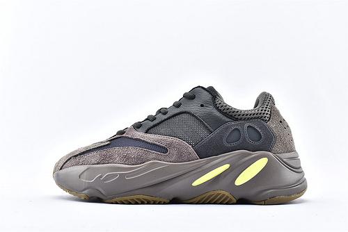 Adidas Yeezy Boost 700 Vanta 椰子700复古老爹鞋/黑紫 3M反光版  纯原版  货号:EE9614  男女鞋  情侣款