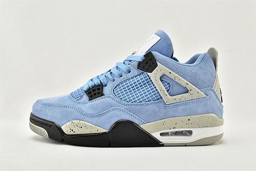 Air Jordan 4 SE AJ4 乔丹4代篮球鞋/大学蓝 北卡蓝 麂皮  纯原版  货号:CT8527-400  男女鞋  情侣款
