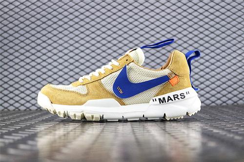Nike Mars Yard x Off-White 联名款2.0宇航员/复古跑鞋 黄白  货号:AA2261 600  男女鞋 情侣款