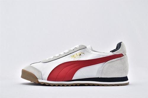 彪马/PUMA OG Nylon 复古板鞋/灰白红 尼龙透气面 原标原盒  货号:362408-14 男女鞋 情侣款