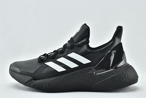 Adidas  X9000L4 Boost 爆米花缓震跑鞋/黑白  货号:FW9396    男鞋