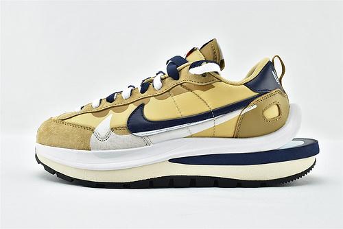 Sacai x Nike LVD Waffle Daybreak 联名走秀款解构高端跑鞋/华夫3.0 卡其蓝  货号:DD1875-200  男女鞋  情侣款
