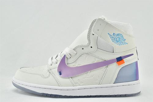 Air Jordan 1 x Art Overturn Shop AJ1高帮联名篮球鞋/Lv 年终大魔方联名 Color Focus  男女鞋  情侣款