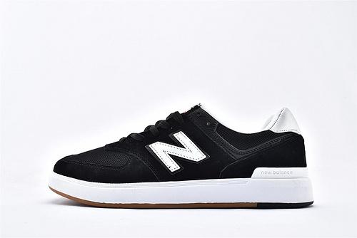 New Balance 新百伦AW574BLACK系列 夏季板鞋/网面 黑白  男女鞋  情侣款