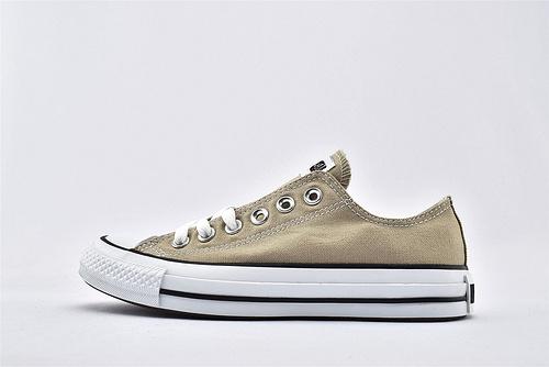 CONVERSE/匡威 ALL STAR 低帮滑板鞋/奶茶 日版限定 经典日系  过验版  货号: 1CL129  男女鞋情侣款