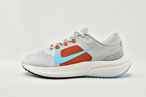 Nike Air Zoom Vomero 15 登月15代气垫缓震跑鞋/灰红蓝  货号:CU1856-004  女鞋