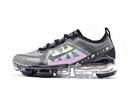 Nike Air VaprMx F1yknit 2019大气垫缓震跑鞋/黑彩虹  货号:CI1240-004  男女鞋  情侣款