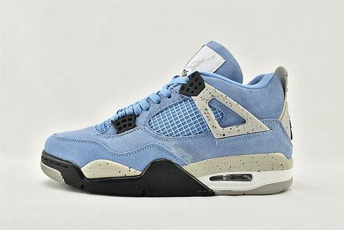 Air Jordan 4 SE AJ4 乔丹4代篮球鞋/大学蓝 北卡蓝 麂皮  货号:CT8527-400  男女鞋  情侣款