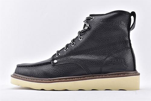 卡特/CAT 美版19款高帮户外工装靴/马丁靴 英伦风范  黑色  男鞋