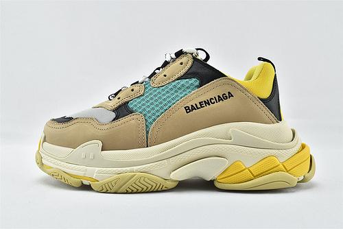 Balenciaga/巴黎世家 1.0 初代 复古老爹鞋/经典 灰绿黄   男女鞋  情侣款