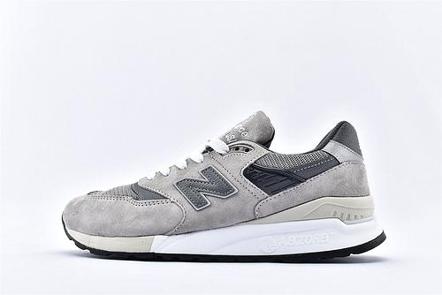 New Balance 新百伦M998BLA 美产高端复古跑鞋/祖灰  男鞋