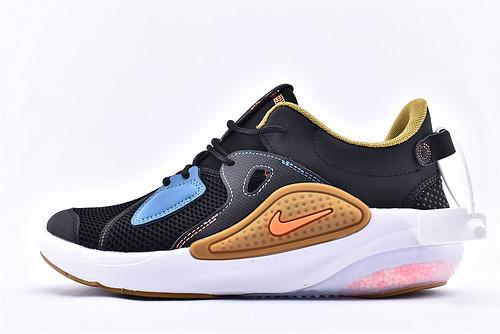 Nike Joyrid CC 缓震颗粒2.0跑鞋/黑黄蓝 拼接 火爆发售   货号:AO1742-002  男鞋