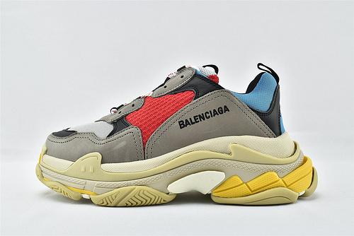 Balenciaga/巴黎世家 1.0 初代 复古老爹鞋/经典 灰红蓝  男女鞋  情侣款