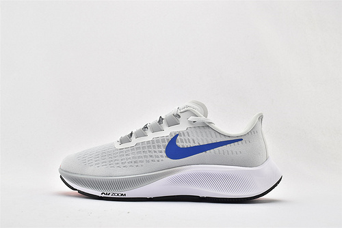 Nike Zoom PEGASUS 37 登月37代网面跑鞋/网纱透明 灰蓝  货号:BQ9646-006   男鞋
