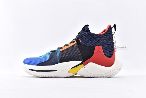 Jordan Why Not Zer0.2 PF 威少2代篮球鞋系列/雷霆 拼色  实战无忧 内置缓震气垫  货号:BV6352-900  男鞋