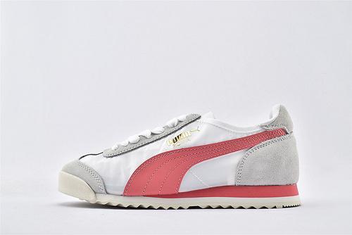 彪马/PUMA OG Nylon 复古板鞋/灰白粉 尼龙透气面 原标原盒   货号:362408-10  女鞋
