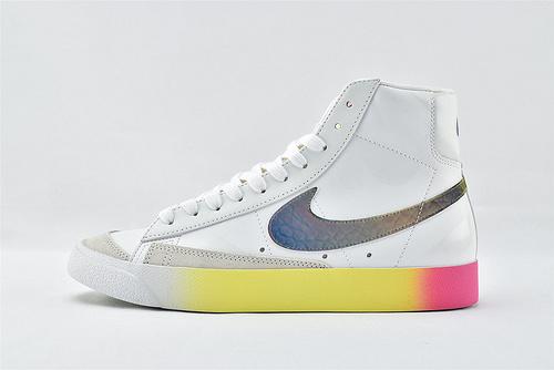 Nike Blazer Mid 77 Vintage 开拓者高帮板鞋/黑镭色   货号:CZ8653-036  男女鞋  情侣款