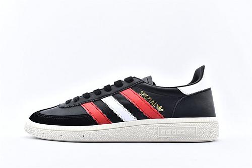 Adidas 三叶草 HANDBALL SPZL 2020新春经典板鞋/黑红  货号:BD3668  男女鞋  情侣款