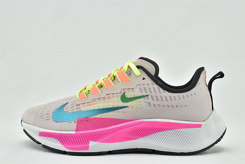 Nike Air Zoom STRUCTURE 登月23代运动跑鞋/粉色拼接  货号:CQ9977-600  女鞋