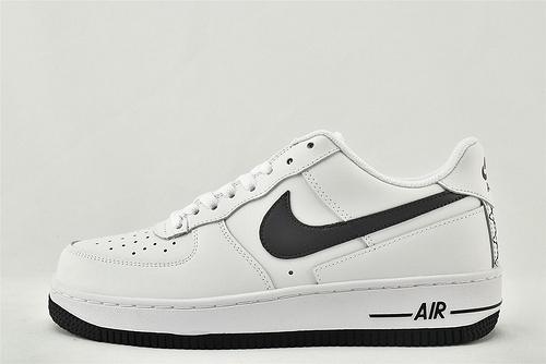 Nike Air Force 1 空军一号/低帮 白黑  货号:DD7113-100  男女鞋 情侣款