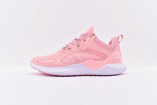 Alphabounce beyond M 阿尔法夏季网面跑鞋/粉白  货号:B43610  女鞋
