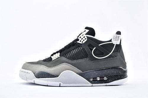 Air Jordan AJ4 乔丹4代篮球鞋/奥利奥 恐惧 纯头层  纯原版  货号:626969-030  男鞋