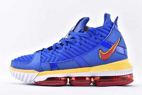Nike Lebron 16 LBJ16 詹姆斯16代篮球鞋/蓝超人  原装版  货号:CD2450-400  男鞋