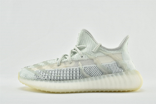 Adidas Yeezy Boost 350 V3 椰子3.0系列/新冰蓝 满天星  货号:FC8366  男鞋