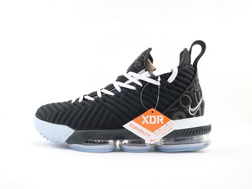 Nike Lebron 16 LBJ16 詹姆斯16代篮球鞋/全明星 黑白鸳鸯 随意开启实战模式  货号:BQ5970 101  男鞋