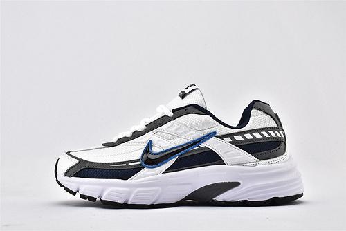 Nike Initiator 2020复古老爹鞋/灰白黑 黑蓝钩  货号:394055-101  男女鞋  情侣款